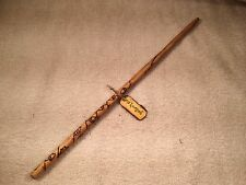 Cosplay Hand Crafted Luna Lovegood Wood Wand With Label Costume