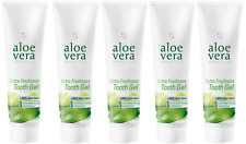 Aloe Vera Tooth Gel - Extra Freshness Flouride-Free Toothpaste by LR - Pack of 5