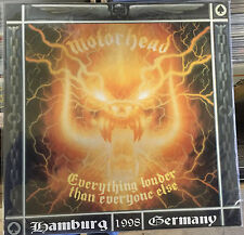 Motörhead | Everything louder than everyone else | 3 LPs Live Hamburg | Vinyl