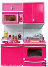 Kids Modern Kitchen Battery Operated with light & Sound Gift for Girl Child