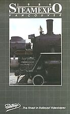 STEAM EXPO 1986 NEW PENTREX DVD VIDEO 20 STEAM LOCOMOTIVES VANCOUVER BC CANADA