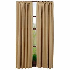 Burlap Natural Curtain Panel Set by VHC Brands