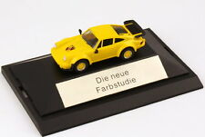 1:87 Porsche 911 turbo yellow yellow - The new Color study - herpa