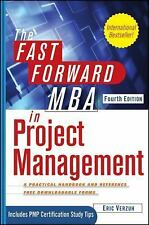 The Fast Forward MBA in Project Management, Verzuh, Eric, Good Book