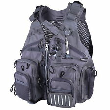 Maxcatch Fly Fishing Mesh Vest &Nipper Forcep Adjustable Outdoor Pack
