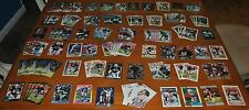 CARD SET OF RARE 158 RONNIE LOTT FOOTBALL TRADING CARDS: 49ERS, RAIDERS, & JETS