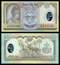 NEPAL 10 RUPEES 2002 UNC P.45 POLYMER BANKNOTE