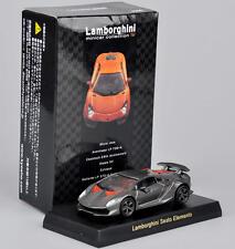 Kyosho Model 1/64 Gray Lamborghini Sesto Elemento Minicar Diecast Car Vehicles