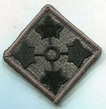 PATCH MILITARY SHOULDER 4TH INFANTRY DIVISION DIGITAL  ACU HOOK BACK FOR ACUS