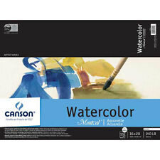 Canson - Artist Series Montval Watercolor Block, Field Sketch Book & Pad - Block