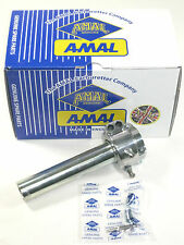 "Amal dual pull carb throttle 7/8"" Triumph Norton BSA UK Made machined alloy"