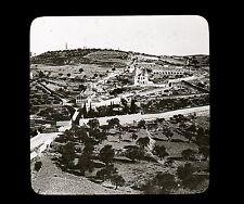 JERUSALEM Palestine c. 1900 - Mont des Oliviers - Verre Positif - 24