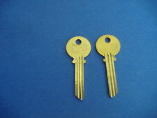 TWO KEY BLANKS FIT MEDECO LOCKS STAR 6ME2 LEVEL 2 6-PIN