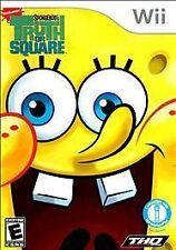SPONGE BOB's TRUTH OR SQUARE Wii - LN