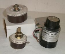 2 Ohmite 2500 Ohm Audio Rheostats Attenuator Potentiometers + 1- Shallco L-Pad