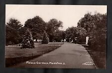 C1910 View of the Palace Gardens, Maidstone, Kent