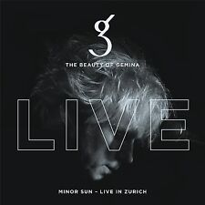 THE BEAUTY OF GEMINA Minor Sun - Live in Zurich 2CD Digipack 2017