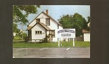 Vtg 1978 Postcard LUCY MAUD MONTGOMERY BIRTHPLACE, Clifton, New London PEI