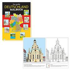 Libro blocco per disegno Germania Attrazioni Cittá Paesaggi