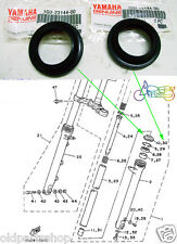 Yamaha RD125YPVS Fork Dust Seal x2 NOS TZR125 FRONT FORK COVER 1GU-23144-00