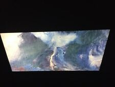 "Chang Dai-Chen ""The Fall"" Chinese Guohua Expressionist Art 35mm Slide"