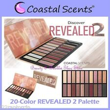 NEW Coastal Scents 20 Nude Shade REVEALED 2 Eye Shadow Palette FREE SHIPPING Two