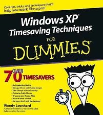 Windows XP Timesaving Techniques for Dummies by Woody Leonhard (2003, Paperback)