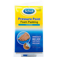 Scholl Pressure Point Foam Padding Cut To Size For Feet And Shoes x1 Sheet