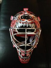 UD Mini Mask Chrome Curtis Joseph Red Wings Autograph Upperdeck COA And