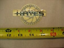 Hayes  Bmx Mtb Road Stickers Decals