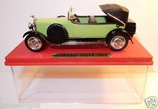 AGE D'OR OLD SOLIDO HISPANO SUIZA CABRIOLET OUVERT 1926 VERT CLAIR IN BOX