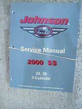 johnson 3 hp outboard 2000 ss johnson outboard 25 35 hp 3 cylinder service manual more in our store u