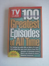 TV Guide - 100 Greatest Episodes of All Time - Adelphia Cable Edition - Jun 1997