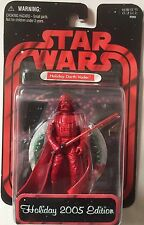 Star Wars Action Figure of HOLIDAY DARTH VADER 2005 EDITION And is 3.75""