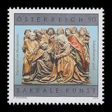 Austria 2014 - Sacred Art in Austrian Death of the Virgin of Heichfeist - MNH