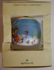 1979 Hallmark Christmas Ornament Baby's 1st First X-mas Tree Trimmer Unbreakable