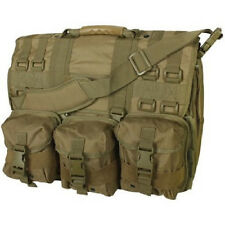 Coyote MOLLE Tactical Military Laptop Field Briefcase Shoulder Bag