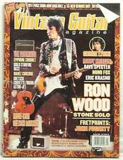 VINTAGE GUITAR MAGAZINE RON WOOD ROLLING STONES GEORGE LYNCH JOHN FOGERTY RARE!!