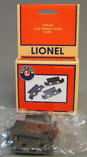 LIONEL 027 TRACK CLIPS train clip tubular 3 rail connector lock 6-62901 NEW