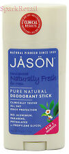Jason Organic Unscented Naturally Fresh Pure Natural DEODORANT For Men 71g