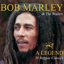 BOB MARLEY AND THE WAILERS A LEGEND - 50 REGGAE CLASSICS - NEW / SEALED CD