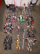 Spawn Figure Lot of 13 - Violator, Clown, Medieval, Mandarin, Cyber, Necromancer