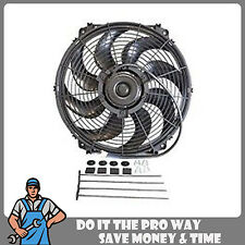 "Brand New 16"" Inch Radiator Cooling Fan W/ Mounting Kit 1500CFM"