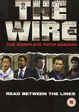The Wire Complete Series 5  (2008) Dominic West, Lance Reddick NEW UK R2 DVD