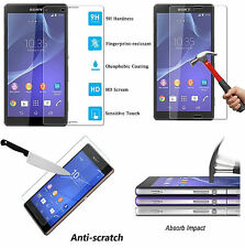FOR SONY EXPERIA XPERIA Z3 REAL TEMPERED GLASS SCREEN PROTECTOR FILM PREMIUM