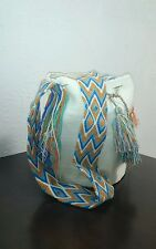 AUTHENTIC MOCHILA WAYUU HANDMADE CROSSBODY SHOULDER BAG FREE SHIPPING 022