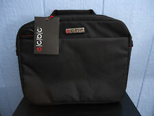 ECBC  e/c/b/c Dart Laptop/Tablet (13 inch) Tote  Black W/ Red Stitching   NEW