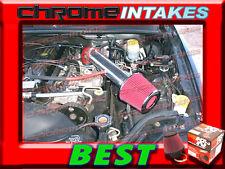 K&N+RED 91 92 93 94 95 96 97 98-01 JEEP CHEROKEE 2.5 2.5L/4.0 4.0L AIR INTAKE 2