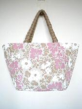Designer Ladies Floral Handbag Shoulder Bag Holiday Beach Shopping JUTE Bag