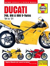NEW Haynes Manual For Ducati 748,916 & 996 4-Valve V-Twins 1994-2008